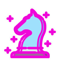 Vector Illustration Of A Pink Elephant