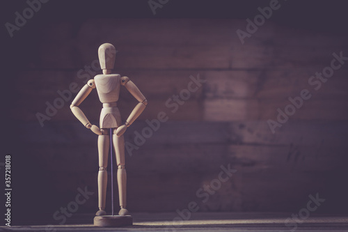 Fototapeta jointed doll