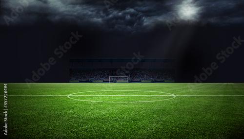 Fussball Stadion Fototapete