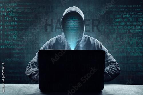 Fototapety, obrazy: Hacker - Cyber Kriminalität