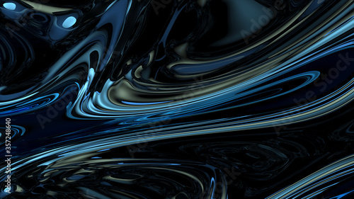 Abstract digital background withhigh contrast dark gradients Canvas Print