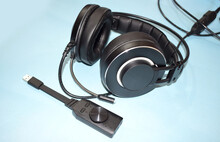 Gaming Headphone With External Sound Card