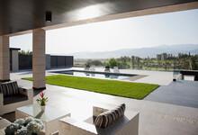 Luxury Patio Overlooking Swimm...