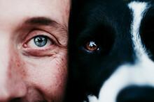 Close-up Portrait Of A Man Wit...