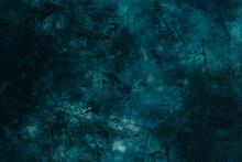 Stucco Texture, Dark Blue-gree...