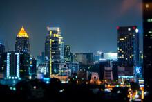 Thailand, Bangkok, Tilt Shift ...