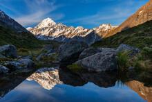 New Zealand, Canterbury, Mount...