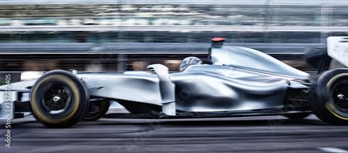 Fotografie, Obraz Race car driving on track