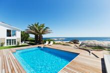 Luxury Swimming Pool With Ocea...
