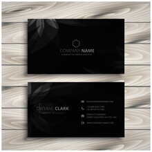 Abstract Modern Business Card ...