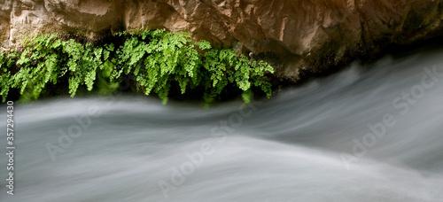 Long exposure of rushing water © Marie Stone/KOTO