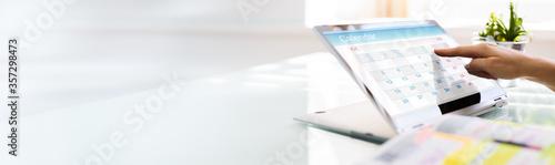 Obraz Online Calendar Business Planner - fototapety do salonu