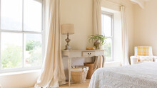 Curtain And Vanity Table In Ru...