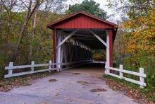 Everett Road Covered Bridge In...