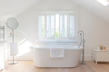 Tranquil White Home Showcase B...
