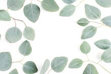 Circle Gray Leaf White Wreath ...