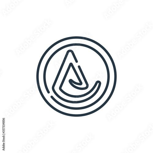 Photo asceticism vector icon
