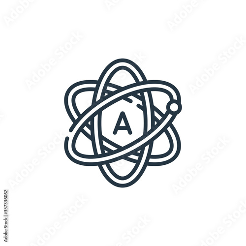atheist vector icon Canvas Print