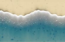 Foam Wave Beach Sea Water