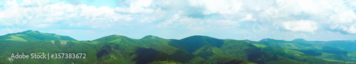 Fotografía Panoramic mountain landscape