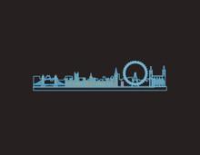 Neon London Iconic Illustratio...