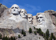 Mount Rushmore National Monument.  South Dakota