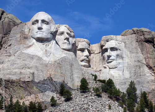 Mount Rushmore National Monument.  South Dakota Canvas
