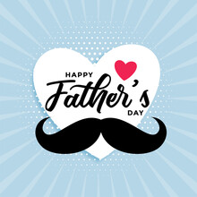 Happy Fathers Day Cute Card De...