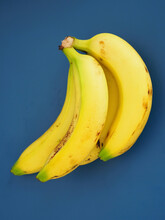 A Bunch Of Ripe Yellow Bananas...