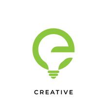 Letter E Creative Logo Design ...