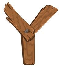 Wooden Alphabet - Letter Y On ...