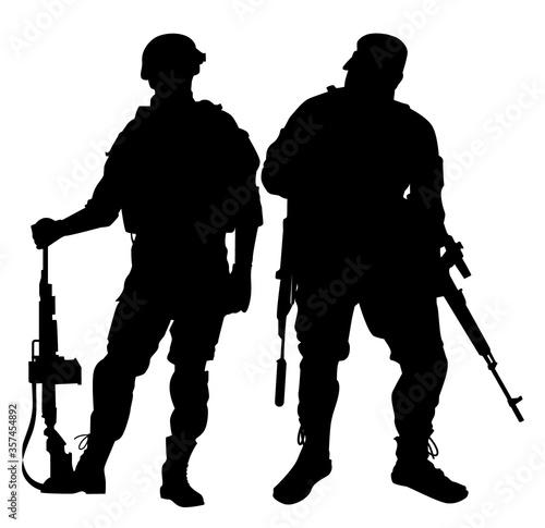 Fotomural soldier vector illustration