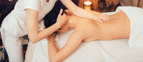 Sabay massage is a full woman body massage Fototapete
