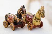 Vintage Spanish Wooden Toys. W...
