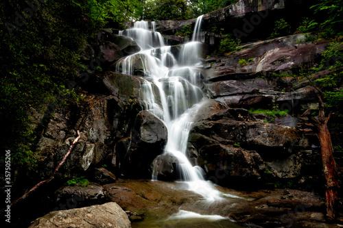 Fotografie, Obraz Ramsey Cascades in Smoky Mountains