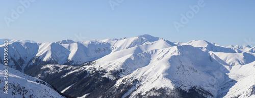 Winter landscape from Polish Tatra mountains #357505623