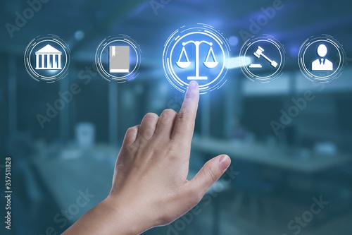 Fotografija Laws, legal information and online consultation