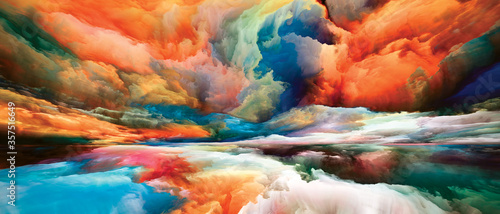 Fototapeta Conceptual Dreamland obraz