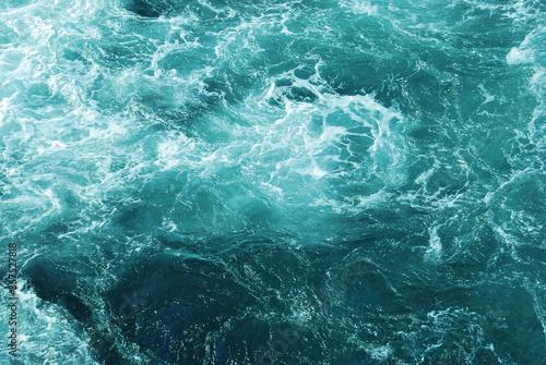 Sea waves Fotobehang