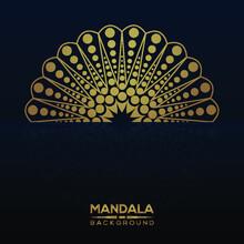 Luxury Mandala Background With...