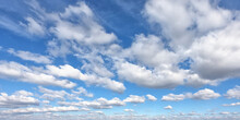 White Clouds On A Blue Sky As ...