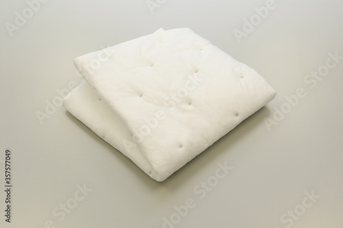 Chemical absorbent pads for chemical spill kits absorb oil, water, acids, caustic or solvent Wallpaper Mural