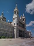 Fototapeta Londyn - budynek architektura niebo hiszpania słonecznie