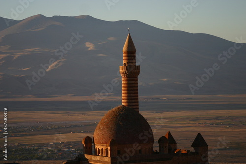 Minarett, Islam Fototapeta