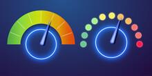 Futuristic Neon Customer Satis...