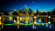 Frankfurt Skyline Night