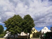 Dichte Wolkendecke Bei Sonnens...