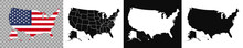 United States Of America Map. ...