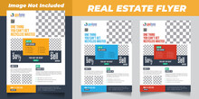 Real Estate Flyer Template Cre...