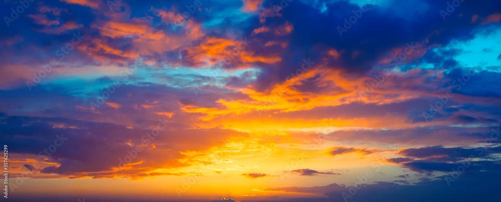 Fototapeta Beautiful Sunset landscape